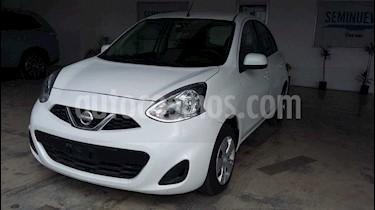 Nissan March Sense  Aut usado (2017) color Blanco precio $170,000