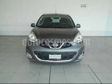 Nissan March 5P ADVANCE L4/1.6 MAN usado (2016) color Gris precio $145,000