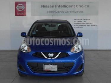 Foto Nissan March 5P HB SENSE TM5 A/AC. DA CD R-14 usado (2017) color Azul precio $165,000