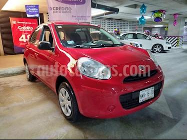Nissan March Drive  usado (2013) color Rojo precio $79,900