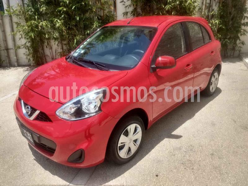 Nissan March Sense usado (2015) color Rojo precio $117,000