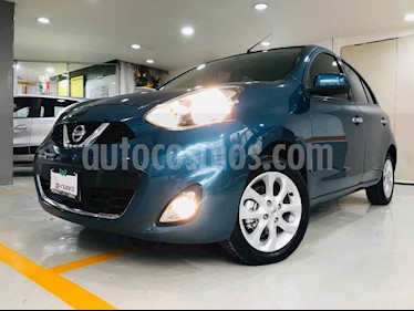 Nissan March Advance usado (2018) color Azul precio $168,000