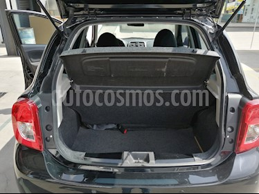 Nissan March Advance Aut usado (2018) color Negro precio $165,000