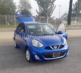 Nissan March Advance Aut usado (2018) color Azul precio $170,000