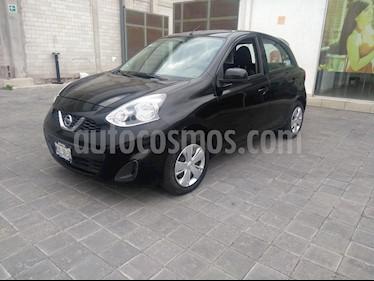 Nissan March Sense usado (2015) color Negro precio $120,000