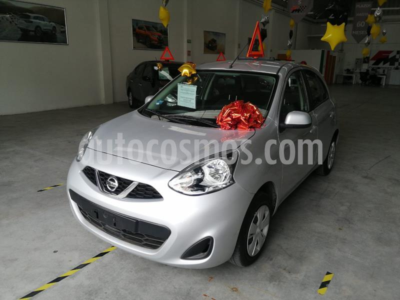 Nissan March Sense usado (2020) color Plata precio $185,000
