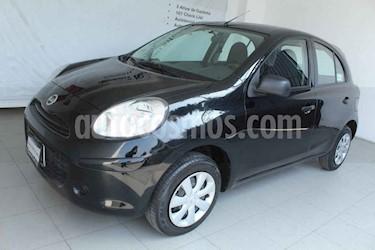 Nissan March 5p Drive 5vel usado (2012) color Negro precio $99,000