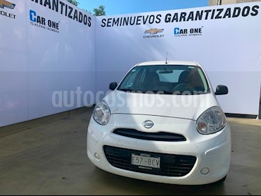 Nissan March Active usado (2018) color Blanco precio $130,000