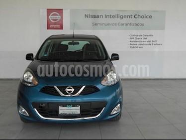 Nissan March 5P SR L4/1.6 MAN usado (2018) color Azul precio $199,000