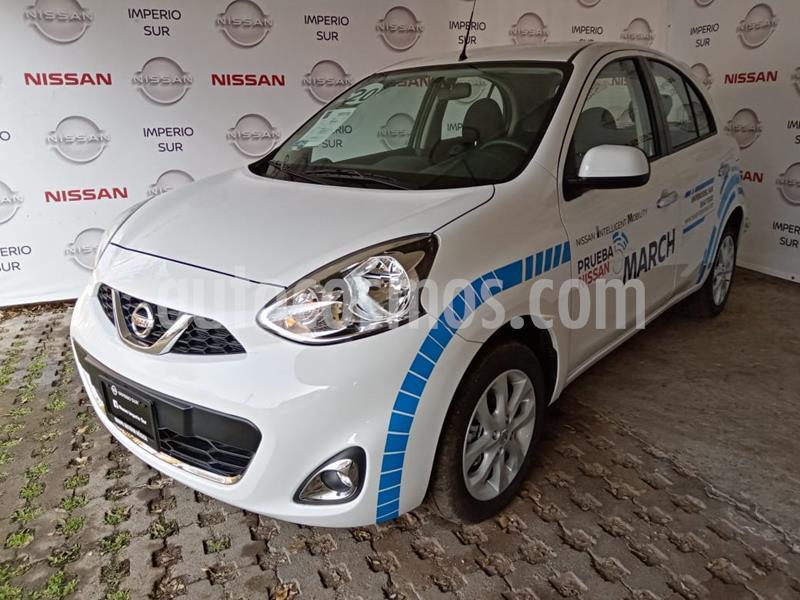 Nissan March Advance NAVI Aut usado (2019) color Blanco precio $230,000