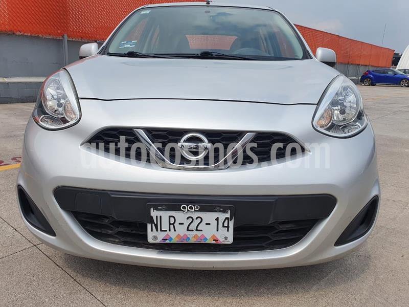 Nissan March Sense usado (2014) color Plata precio $113,000