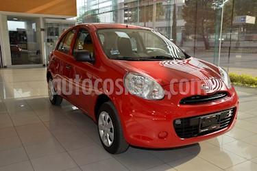 Nissan March Active usado (2020) color Rojo precio $154,400