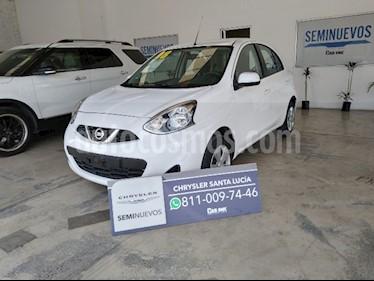 Foto Nissan March Sense  Aut usado (2018) color Blanco precio $180,000