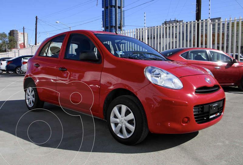 Nissan March Sense usado (2020) color Rojo precio $139,990