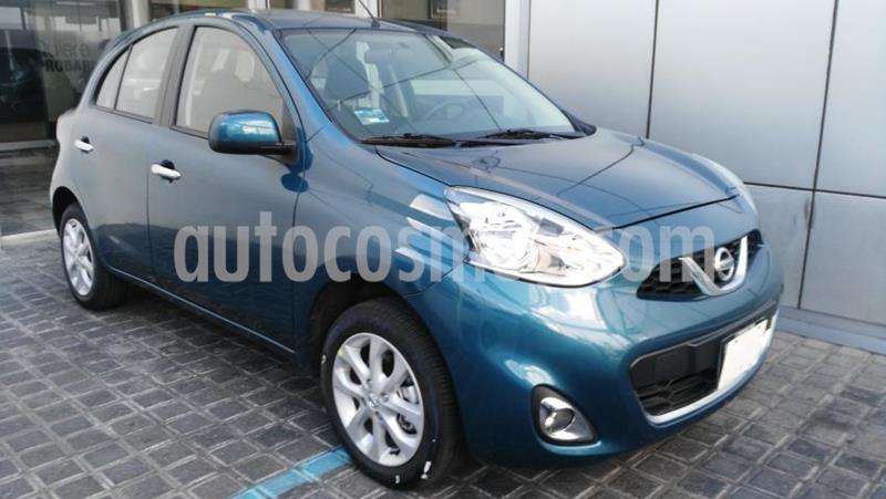 Nissan March 5P ADVANCE L4/1.6 AUT usado (2020) color Azul precio $205,000