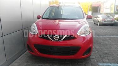 Nissan March 5P SENSE L4/1.6 AUT usado (2017) color Rojo precio $130,000