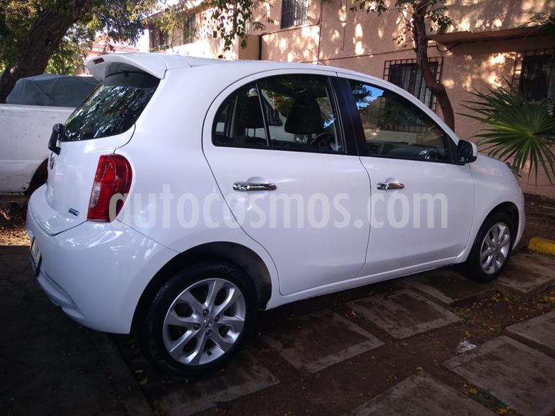 Nissan March Advance Aut usado (2016) color Blanco precio $125,000