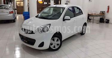 Nissan March 5p Sense L4/1.6 Aut usado (2018) color Blanco precio $139,900
