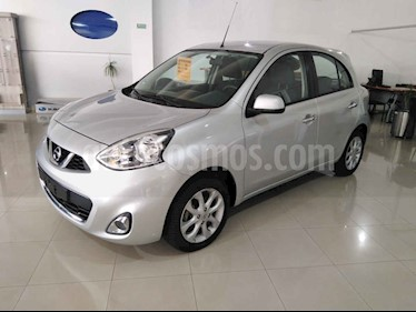 Nissan March 5p Advance L4/1.6 Man usado (2017) color Plata precio $144,999
