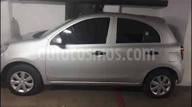 Nissan March Sense usado (2012) color Plata precio $86,000