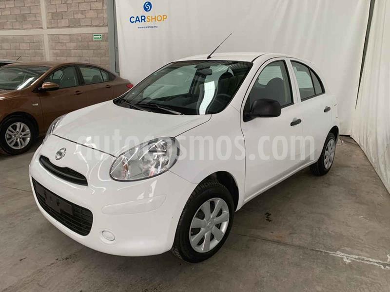 Nissan March Active usado (2019) color Blanco precio $129,900