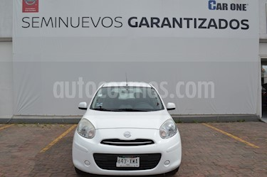 Nissan March Advance Aut usado (2012) color Blanco precio $99,900