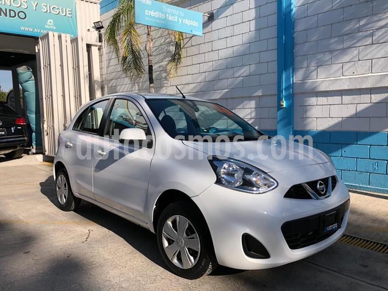 Nissan March Sense Aut usado (2018) color Blanco precio $152,000