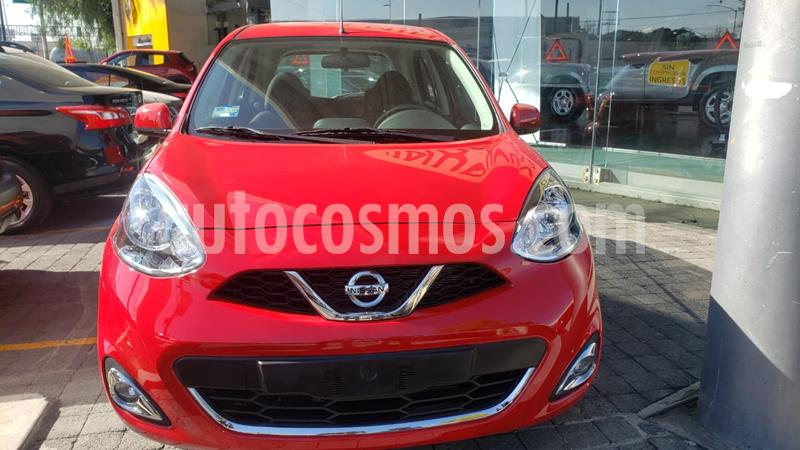 Nissan March Advance usado (2020) color Rojo precio $203,000