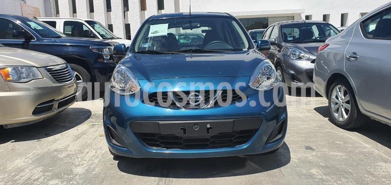 Nissan March Sense  Aut usado (2018) color Turquesa precio $148,000