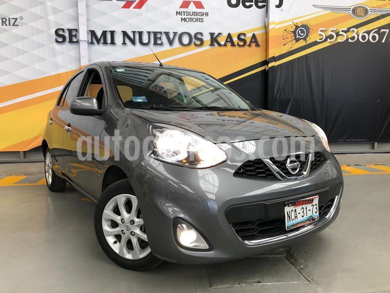 Nissan March Advance usado (2018) color Plata Dorado precio $180,000