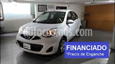 Nissan March Sense usado (2015) color Blanco precio $36,250