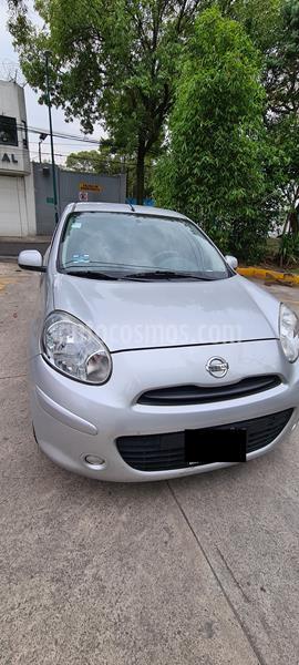 Nissan March Sense  Aut usado (2013) color Gris precio $95,000