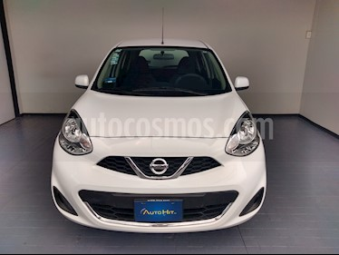 Nissan March Sense usado (2017) color Blanco precio $137,000