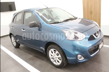 Nissan March Advance usado (2015) color Azul precio $139,000