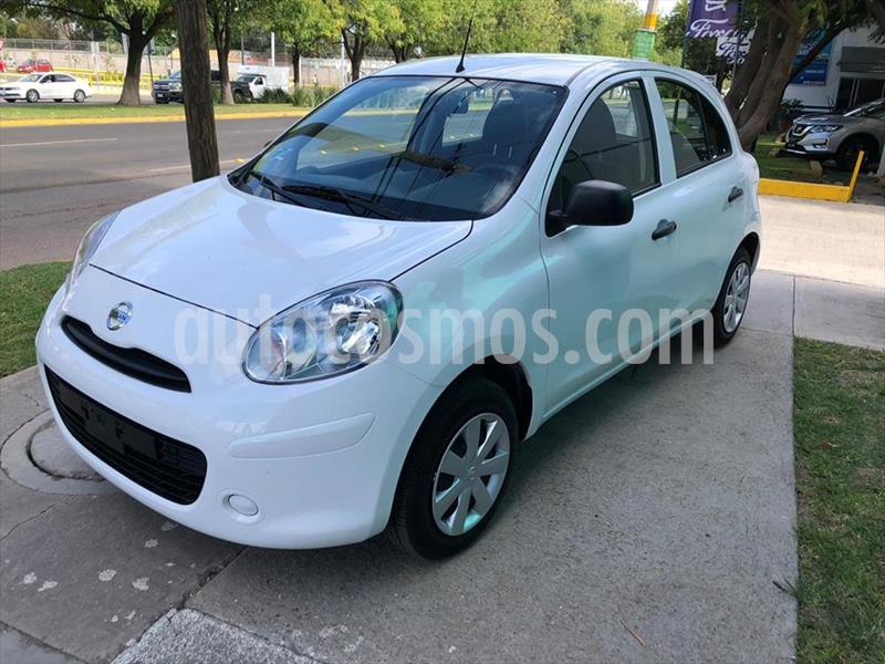 Nissan March ACTIVE TM AC usado (2018) color Blanco precio $165,000