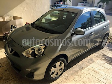Nissan March Sense Aut usado (2014) color Gris Oxford precio $98,000