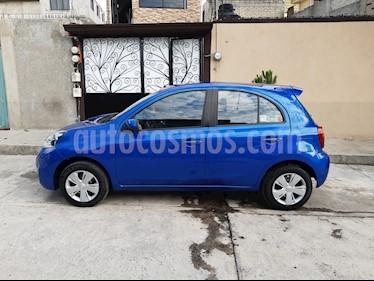 Nissan March Sense usado (2015) color Azul precio $112,000