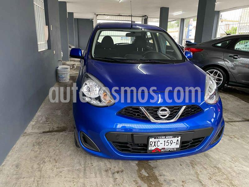 Nissan March Active ABS usado (2018) color Azul precio $145,000