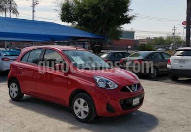 Nissan March Sense Aut usado (2018) color Rojo precio $155,000