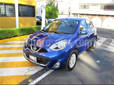 Nissan March Advance usado (2014) color Azul Electrico precio $109,900
