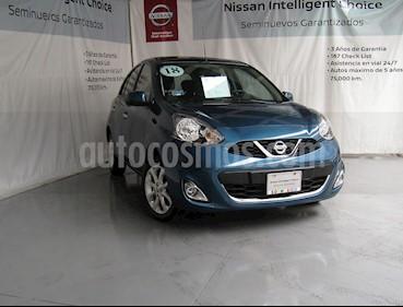 Nissan March Advance Aut usado (2018) color Turquesa precio $180,000