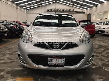 Nissan March 5P HB ADVANCE TM5 A/AC. DA BA CD RA-15 usado (2015) color Plata precio $129,900