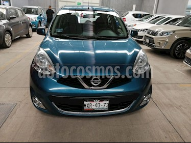 Nissan March Advance usado (2016) color Azul Electrico precio $142,000