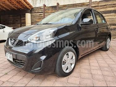 Nissan March Sense usado (2015) color Negro precio $125,000