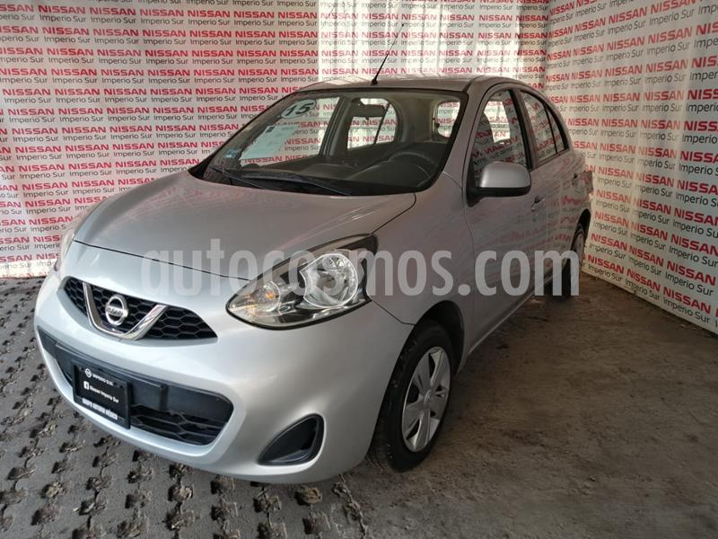Nissan March Sense usado (2015) color Plata precio $125,000