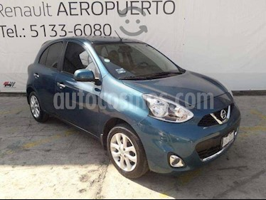 Nissan March Advance usado (2018) color Turquesa precio $139,000