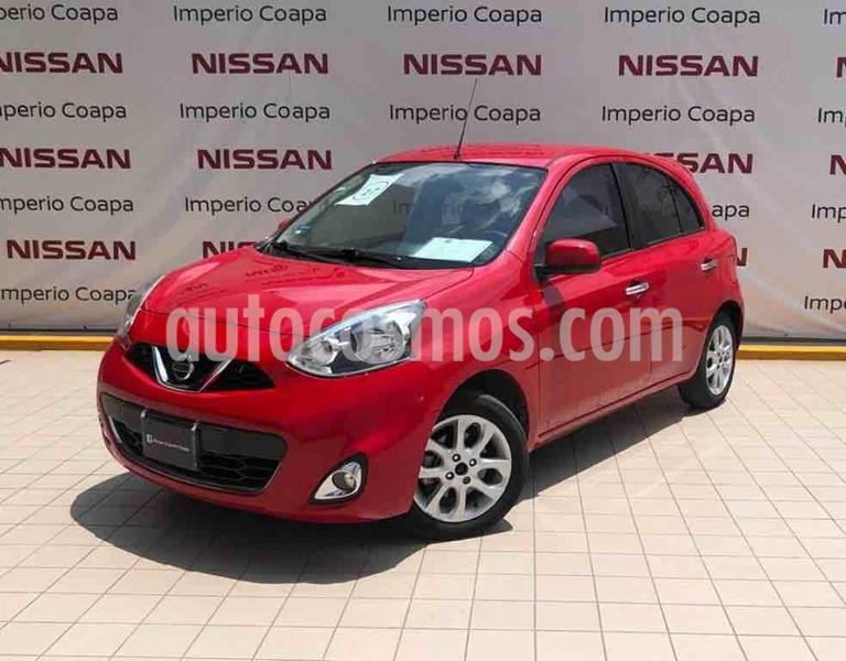 Nissan March Advance usado (2017) color Rojo precio $159,000