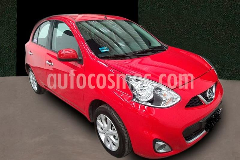 Nissan March Advance usado (2020) color Rojo precio $189,999