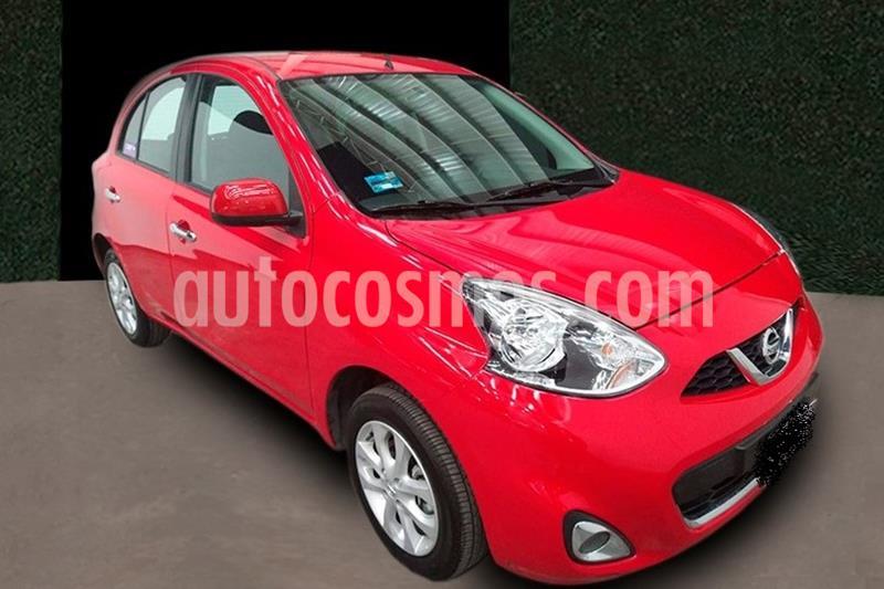 Nissan March Advance usado (2020) color Rojo precio $197,999