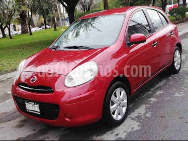 Nissan March Advance usado (2012) color Rojo precio $95,000